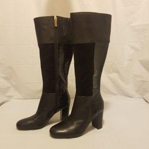 Isaac Mizrahi live! leather/suede boots size 7.5